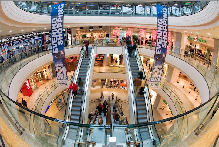 Nákupy v Drážďanech - průvodce obchodními domy