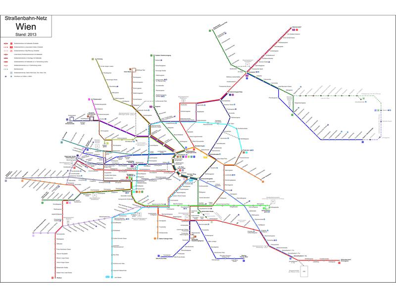 Vídeň - městská hromadná doprava