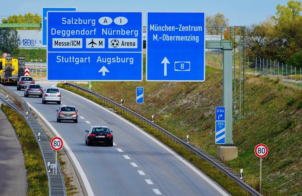 Německé dálnice - poplatky, rychlost a praktické informace