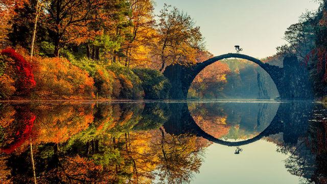 Ďáblův most v Německu - fotografický evergreen