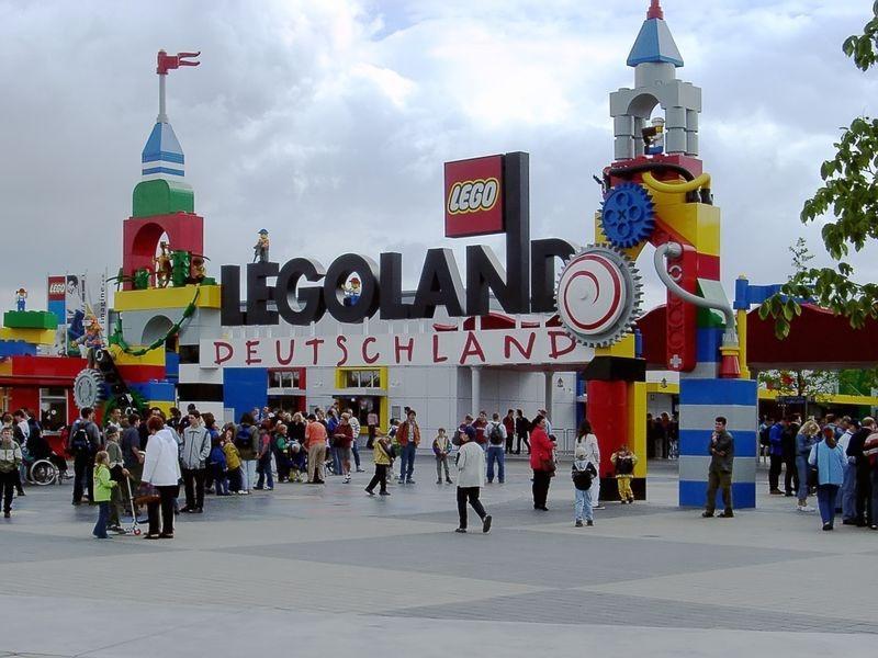 Legoland v Německu - užijte si kopec zábavy