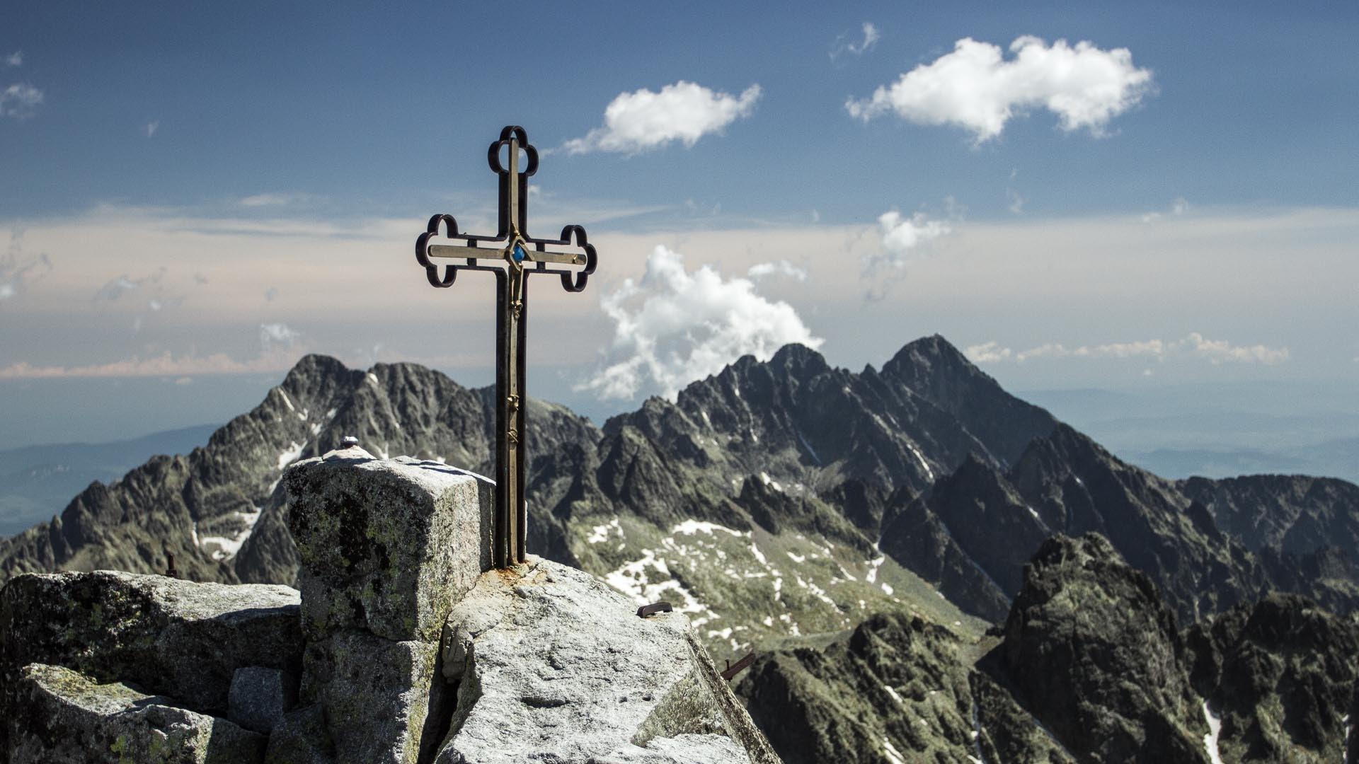 Gerlachovský štít - nejvyšší hora Slovenska