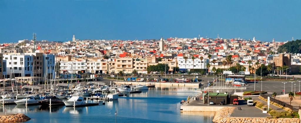 Rabat - hlavní město Maroka