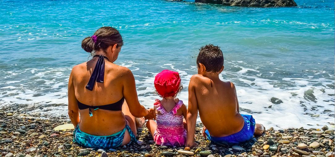 Kam na dovolenou k moři s dětmi
