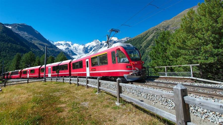 Vlakem po Švýcarsku - vše, co potřebujete vědět