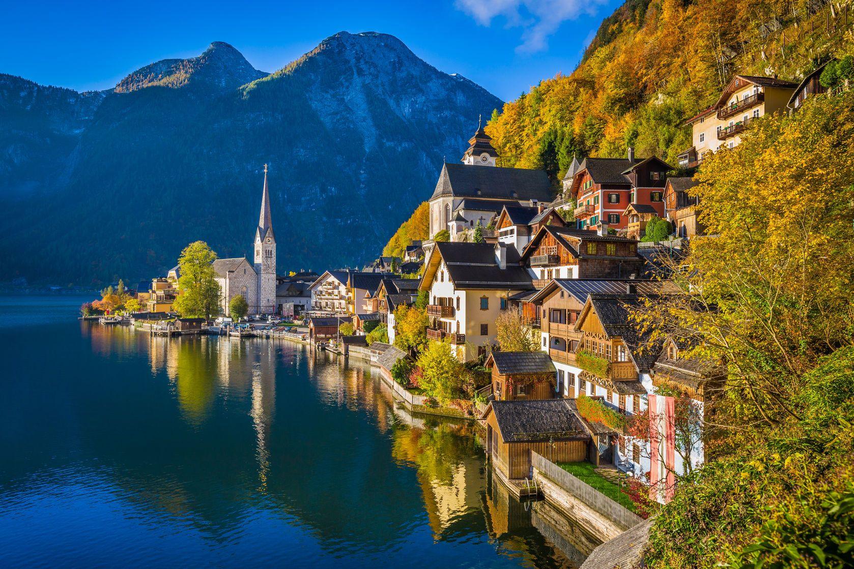 Solné doly Hallstatt v Rakousku