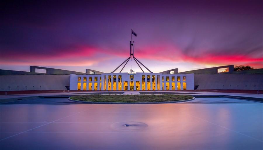 Canberra - hlavní město Austrálie