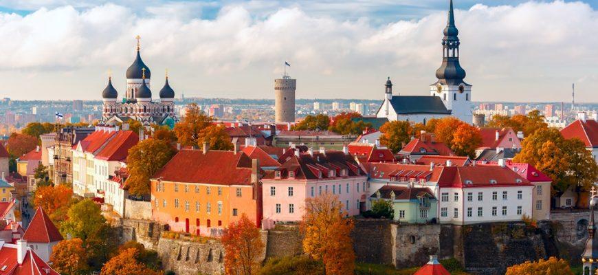 Tallinn - hlavní město Estonska