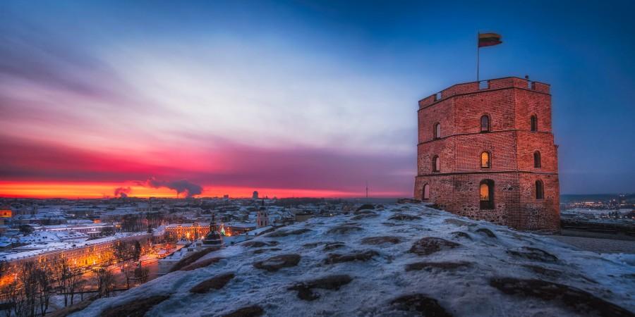 Vilnius - hlavní město Litvy