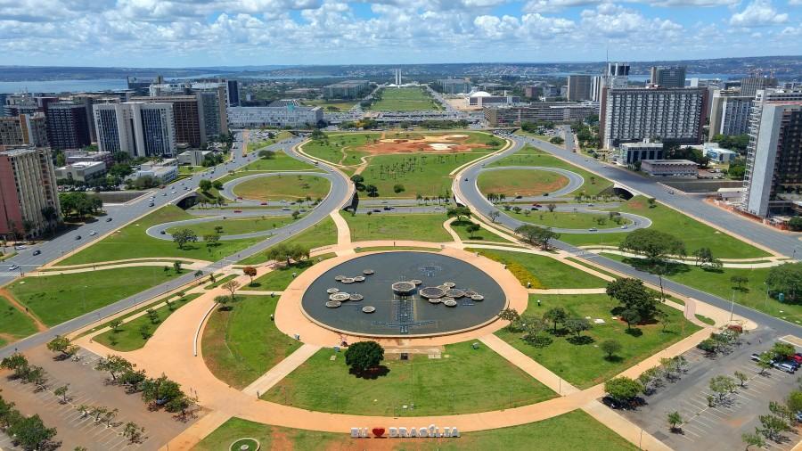 Brasilia - hlavní město Brazílie