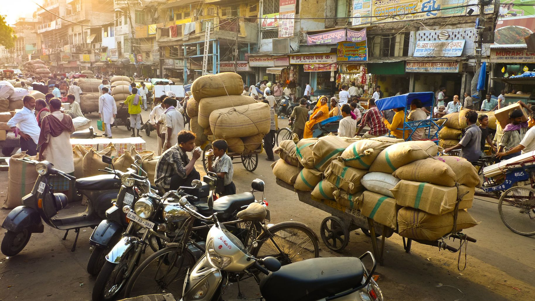 Nové Dillí - hlavní město Indie
