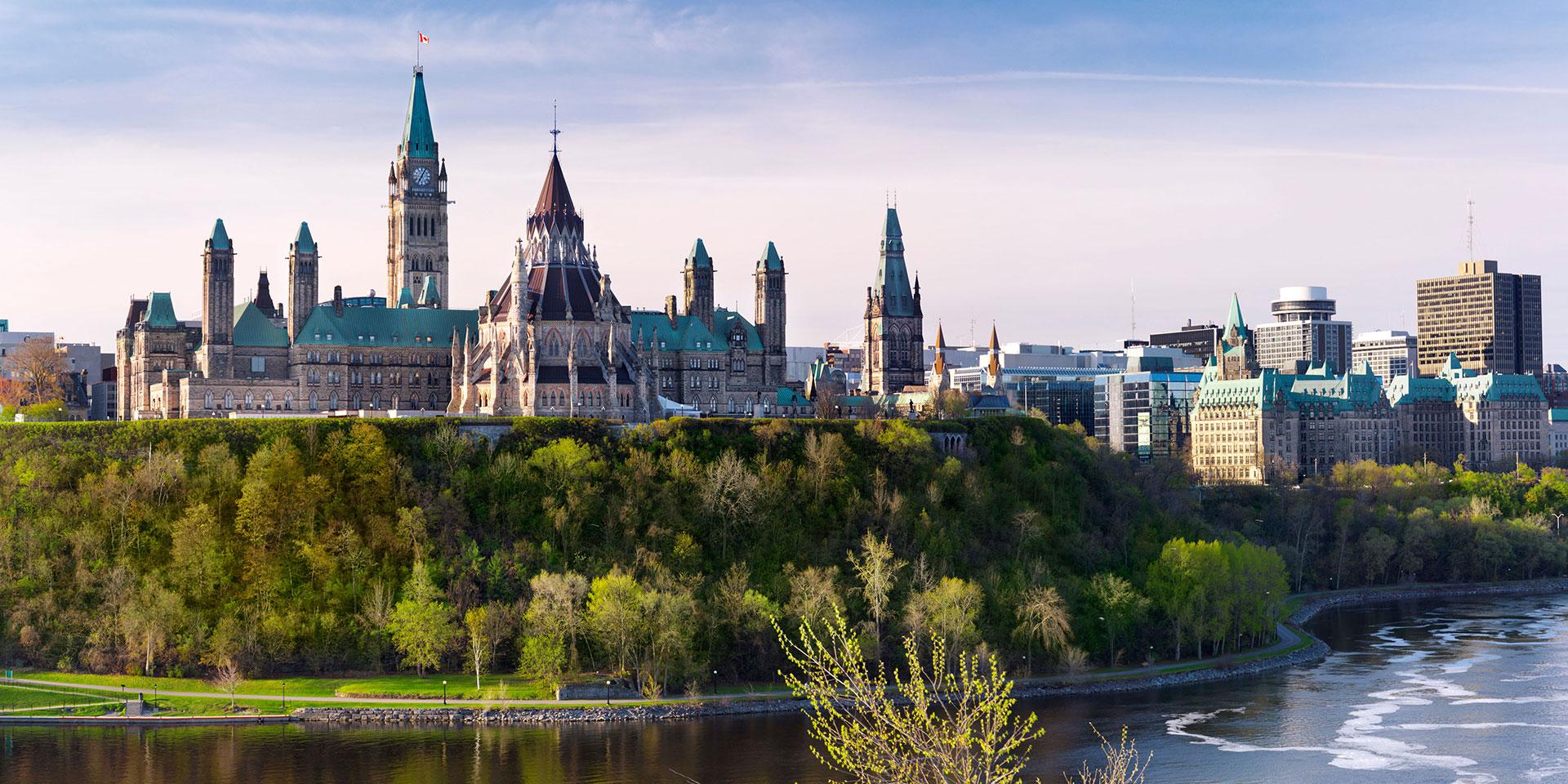 Ottawa - hlavní město Kanady