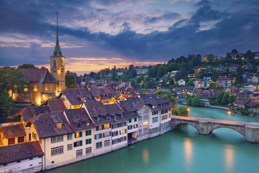 Bern - hlavní město Švýcarska