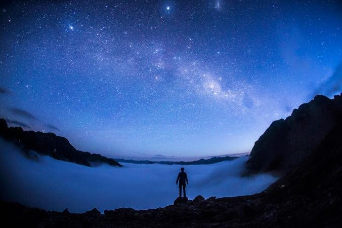 Hvězdná obloha v Nelson Lakes National park, www.nationalgeographic.com