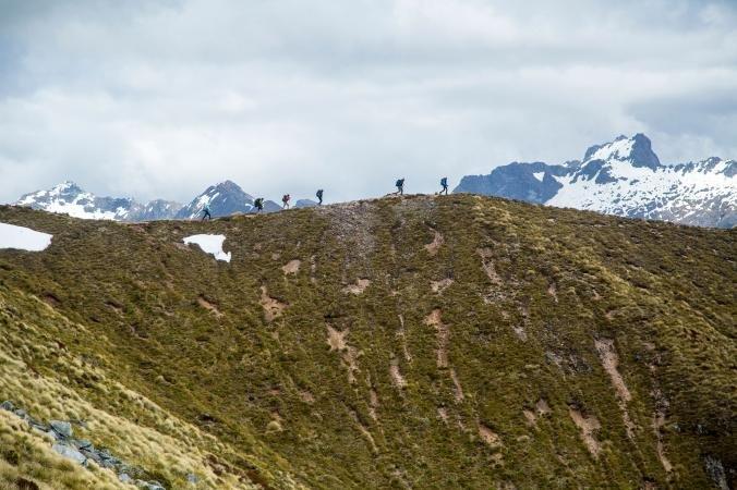 Turisté v Fiordland National Park, www.nationalgeographic.com