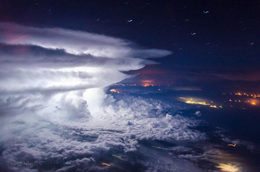 Tormenta, pobřeží Venezuely, foto: Santiago Borja Lopez