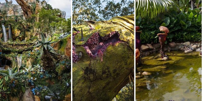 Disney otevřel nový park podle Pandory z Avataru